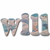 Will Vintage Airplanes Hand Painted Wall Letters