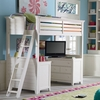 Willow Run Linen Loft Bed