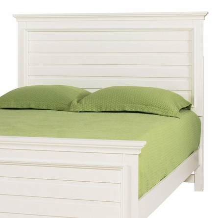 Willow Run Linen Panel Bed