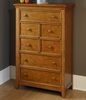 Willow Run Toffee Drawer Chest