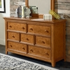 Willow Run Toffee Drawer Dresser
