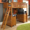 Willow Run Toffee Loft Bed