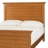 Willow Run Toffee Panel Bed