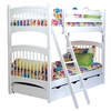 Windsor Twin Bunk Bed with 2 Underbed Storage Drawers in White