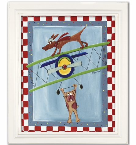 Wing Walker Canvas Reproduction