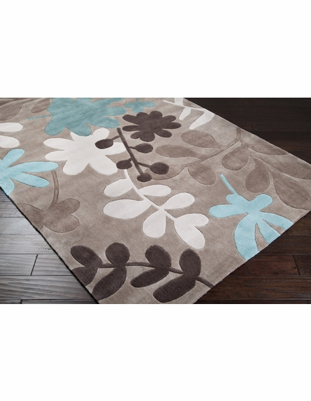 Winter Leaves Rug