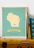 Wisconsin My Roots State Map Art Print