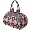 Wistful Weekender Diaper Bag - Blooming Begonia