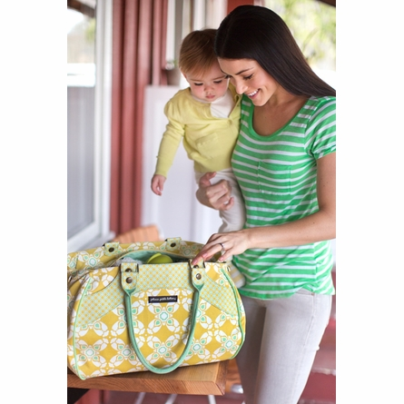 Wistful Weekender Diaper Bag - Casbah Nights