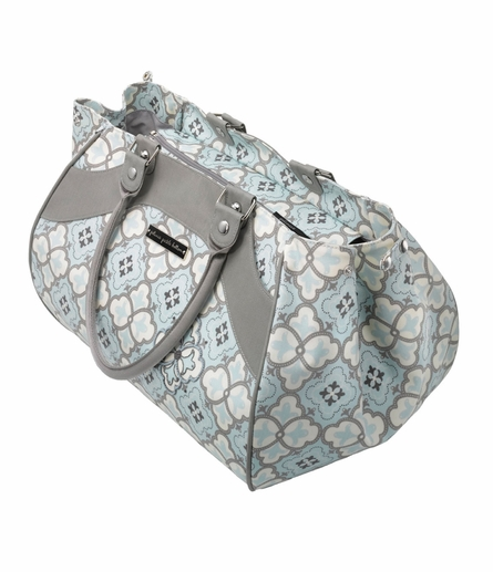 Wistful Weekender Diaper Bag - Classically Crete