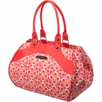 Wistful Weekender Diaper Bag - Fire Flower Fields