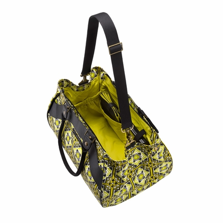 Wistful Weekender Diaper Bag - Graphic Garden