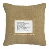 Within Your Heart Patch Throw Pillow