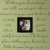 Within Your Heart Square Picture Frame