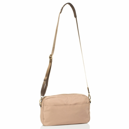 Wonder Clutch Diaper Bag in Beige