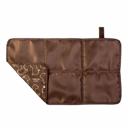 Wonder Clutch Diaper Bag in Plum