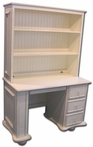 Wonderland 3-Drawer Desk with Optional Hutch