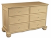 Wonderland 6-Drawer Dresser