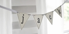 Wooden Flag Wall Letters