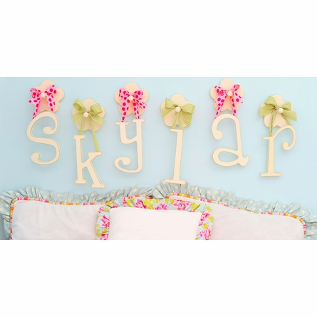 Wooden Hanging Letters