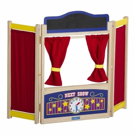 Wooden Pretend Tabletop Theater