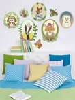 Woodland Animal Portraits Peel & Place Wall Stickers