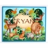 Woodland Animals Personalized Hand Painted Canvas Wall Art