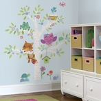 Woodland Baby Birch Tree Wall Decals