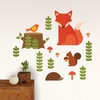 Woodland Fabric Wall Decal