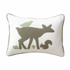 Woodland Tumble Mocha Boudoir Pillow
