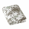 Woodland Tumble Mocha Fitted Crib Sheet