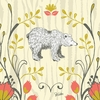Woodland Wonderland Bear Canvas Wall Art