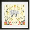 Woodland Wonderland Bear Framed Art Print