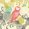 Woodland Wonderland Owl Canvas Wall Art