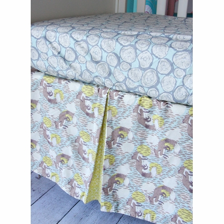 Woodlands Bumper Free Crib Bedding Set