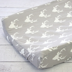 Woodlands Deer Changing Pad Cover