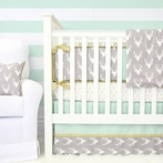 Woodlands Deer Crib Bedding Set