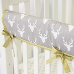 Woodlands Deer Crib Rail Cover