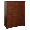 Woodridge 6 Drawer Chest in Chestnut