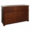 Woodridge 7 Drawer Dresser in Chestnut