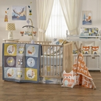 Woods 4-Piece Crib Bedding Set
