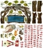 Woodsy Arbor Peel & Place Wall Stickers