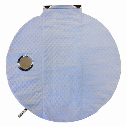 Wrap & Roll Mat in Social Circle Blue