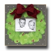 Wreath Flannel Picture Frame