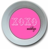 XOXO Pink Personalized Melamine Bowl