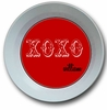XOXO Red Personalized Melamine Bowl