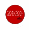 XOXO Red Personalized Melamine Plate