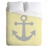 Yellow Anchor Luxe Duvet Cover