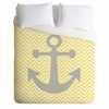 Yellow Anchor Lightweight Duvet Cover