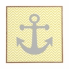 Yellow Anchor Framed Wall Art